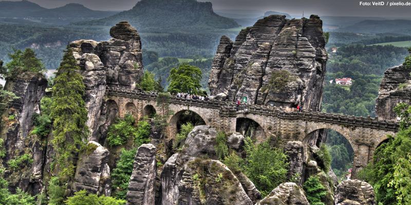 Nationalpark Sächsische Schweiz – Seltene Arten zwischen bizarren Felsen