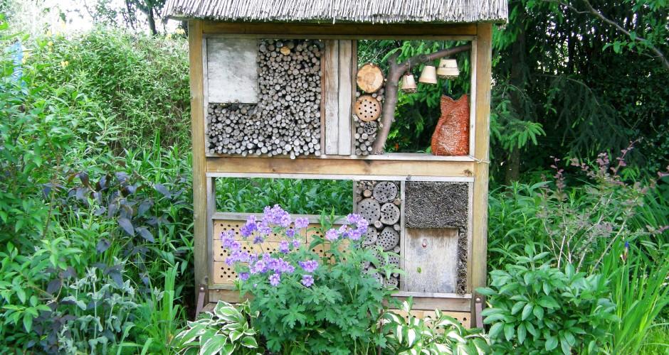 Was ist ein Insektenhotel?