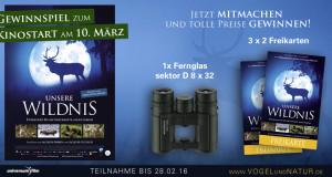 "Filmtipp: ""Unsere Wildnis"" (Kinostart: 10. März)"