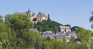 Vogelbeobachtung am Schloss – Marburg in Hessen