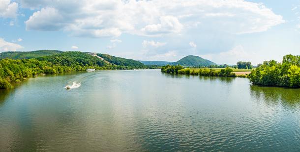 Hotspot: Die Donau bei Regensburg